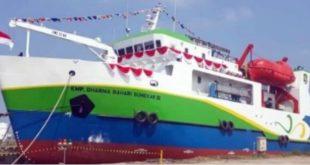 Diterpa Angin Kencang, Kapal DBS III Kandas di Perairan Raas